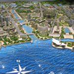 Dalian Water Front Model