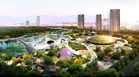 Qiujiayang Children Park is an important step for the city to provide a world-class family environment