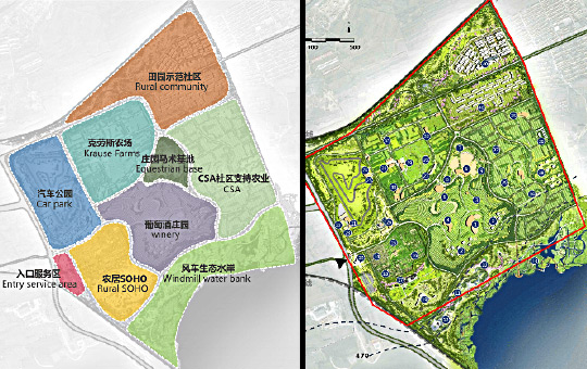 Beijing North Wine Rural Complex Project, Huailai, PRC