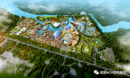 China HHN City Designed By MCM Group International